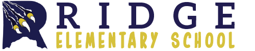 Ridge Elementary School logo centered